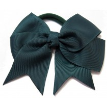 Large Grosgrain Bow Tie Green